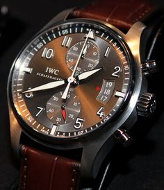 IWC Spitfire Chronograph #watch #iwc