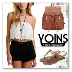 """""""YOINS.com"""" by monmondefou ❤ liked on Polyvore featuring yoins"""