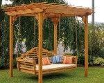 Cedar-Pergola-Swing-Bed-Stand