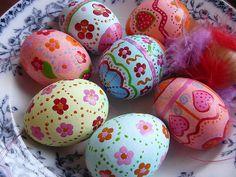 Ostern - easter eggs