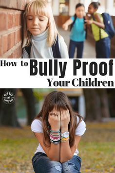 How to bully-proof your kids. Your kids do not need to be the target of bullying, teach them to be kind and also stand up for themselves and others. End bullying with these steps to bully proof your child. Kids And Parenting, Parenting Hacks, Parenting Styles, Parenting Classes, Teaching Kids, Kids Learning, Education Positive, Positive Discipline, Bullying Prevention