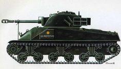 El carro M4A3 Sherman Firefly