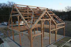 Past Projects   Oak Bridge Timber Framing