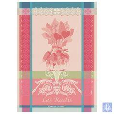 Garnier Thiebaut Radis Rose Towel