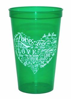 Alpha Epsilon Phi Giant Plastic Cup #alphaepsilonphi #sororitycup