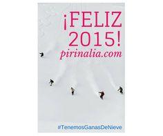 ¡¡Nuestro deseo para el #2015 es que disfrutes ya sea... solo, en pareja, con amig@s o con tu familia de tu #experiencia en la #nieve!! ¡¡Feliz año 2015!!  #TenemosGanasDeNieve!!! Alquila tu #apartamento en ------------------------------->www.pirinalia.com o llámanos al 973 10 72 07 #Grandvalira #Vielha #Baqueira #Soldeu #Esquí #Ski #Snowboard #Bilbao #Madrid #Barcelona #Lleida #Turismo #Apartamentos #Nieve #Snow #Baqueira50 #Mallorca