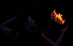 fire element* holding fire.
