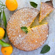 Κέικ πορτοκαλιού με Ελληνικό γιαούρτι