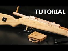 Want to shoot rubber bands with the same precision and accuracy as the WW1 and WW2 snipers used to shoot? In this case you might want to check this bolt action repeating rubber band rifle.