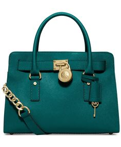 MICHAEL Michael Kors Hamilton Saffiano Leather East West Satchel - Michael Kors Handbags - Handbags & Accessories - Macy's