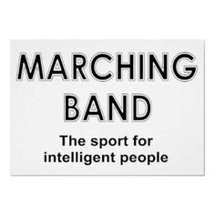 Marching Band Rectangle Sticker 10 pk)                              …