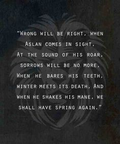 Narnia prophecy