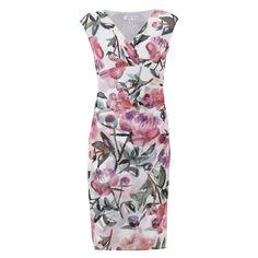 Sleeveless Floral Patterned Dress for £29.99 #fabfind