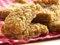 Healthy Oat And Honey Slice