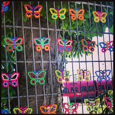 Perler Street Art by ABYS Art BY beadS