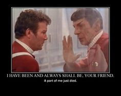 Spock's Death.....
