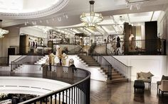 The new Burberry flagship store, London #decorative lighting