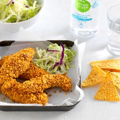 I'm checking out a delicious recipe for Pecan-Crusted Chicken Tenders from Fred Meyer!