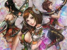 dystany warriors Wallpaper | Dynasty Warriors 8 Wallpaper 4 by Paulinos