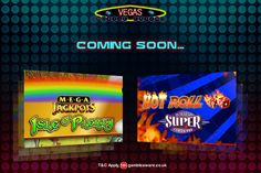 Single spin is enough to make you rich, The Mega Jackpot Isle O'Plenty and Hot Rolls Super Times Pay slots with massive jackpots are coming soon at Vegas Mobile Casino!!