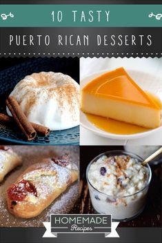 10 Puerto Rican Desserts To Give Your Life Some Flavor | How To Make Traditional Sweets From The Hispanic Kitchen - Easy Spanish Food Tutorial |  http://homemaderecipes.com/10-puerto-rican-desserts/ #hispanickitchen