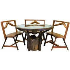 Southwestern style is easy to achieve with the Jackson Hole Teak Table. Ecofriendly teak meshes with an antique wagon wheel and an authentic grain plow to create perfect symmetry. No matter where you . Weird Furniture, Western Furniture, Log Furniture, Outdoor Furniture, Teak Table, Patio Table, Picnic Table, Dining Table, Outdoor Seating