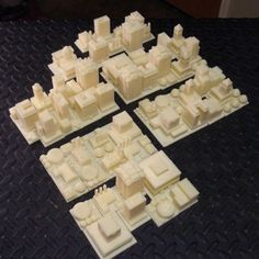 From virtual to reality, 3D printed Sim City