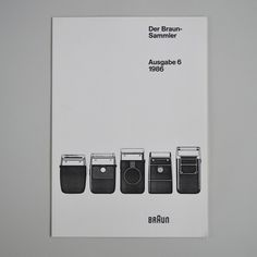 Der Braun Sammler issue 6 | Flickr Photo Sharing! — Designspiration