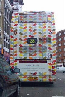 Orla Kiely bus design