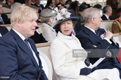 Boris Johnson, Princess Anne, Princess Royal and Prince Andrew, Duke of York during the dedication and unveiling of The Iraq and Afghanistan memorial on March 2017 in London, England. Princess Beatrice, Princess Eugenie, Princess Anne, Duchess Of York, Duke Of York, Duke And Duchess, Prince Andrew, Prince Philip, British Prime Ministers