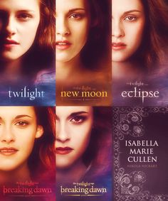 nikola-nickart:    Evolution of Isabella Marie Swan Cullen
