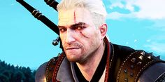 s t e p p i n' The Witcher Game, The Witcher Geralt, Geralt Of Rivia, Witcher Tattoo, Interesting Gif, The Last Wish, Anime Prince, Vampire Masquerade, Alien Isolation