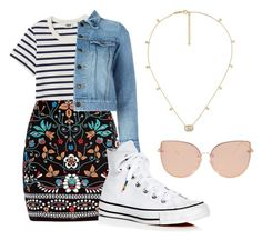 """""""School Day"""" by jobobbybunny ❤ liked on Polyvore featuring Marni, Yves Saint Laurent, Converse, Gucci and Topshop"""
