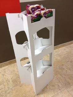 "1 Piece ""x"" Floor Stand by Brian Bell, via Behance"