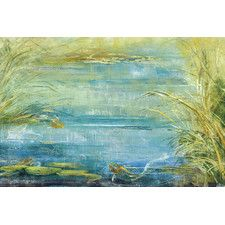 Quiet Sanctuary by Angellini Painting Print on Wrapped Canvas