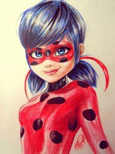 Miraculous Ladybug +SPEED DRAW! by ProNastya
