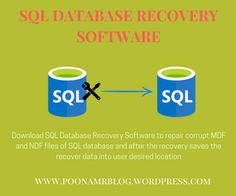 Download SQL Database Recovery Software to recover all the data from MDF and NDF files of SQL database.  And after the recovery this SQL database Recovery tool saves the recovered data in SQL Server database and SQL Server Compatible Script format and also preview the recovered data in the tree-structure. This SQL Recovery Software support Row and Page compression SQL Server and also support blob, image, xml and large data.