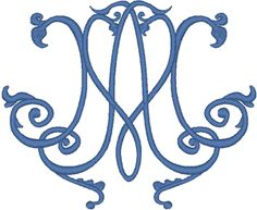 Marian Symbol #3 Embroidery Design