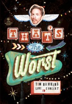 That's the Worst, DVD   -     By: Tim Hawkins