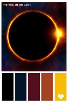 Eight beautiful color palettes inspired by outer space! Great inspiration for branding, design, interior design, wedding colors, and more! Pantone Colour Palettes, Color Schemes Colour Palettes, Room Color Schemes, Colour Pallette, Pantone Color, Color Combos, Draw Tips, Colour Board, Color Theory