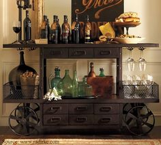 Add color to your mobile bar by introducing a fusion of fruits, flowers and candlesticks.