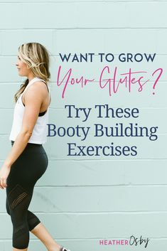 My favorite butt exercises. GLUTE EXERCISES ARE THE BEST! Do you find yourself searching for glute exercises for women, glute exercises at home, glute exercises gym, etc.? I don't blame you! Glutes, 100% my favorite muscle group to train. Strong glutes help support the function of the pelvic floor. In pregnancy strong glutes will help stabilize the pelvis and ward off some of the aches and pains. Glute exercises during pregnancy, glute exercises postpartum. #gluteexercises #gluteworkouts At Home Glute Workout, Crossfit Workouts At Home, Fit Board Workouts, Butt Workout, Post Baby Workout, Post Pregnancy Workout, Exercise During Pregnancy, Glute Exercises, Pelvic Floor Exercises