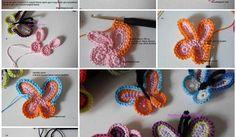 Easy-to-Make Crochet Queen Butterfly (With Video Tutorial) Crochet Butterfly Free Pattern, Owl Crochet Patterns, Crochet Puff Flower, Crochet Stitches Free, Christmas Crochet Patterns, Crochet Art, Crochet For Kids, Crochet Flowers, Simply Crochet
