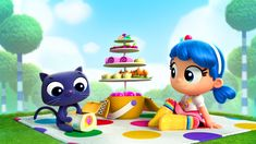 Check out this kid-friendly netflix show produced by Pharrell. Your kids are sure to love it. New Netflix, Shows On Netflix, Rainbow Birthday, 4th Birthday, Birthday Ideas, Rainbow City, Diy And Crafts, Crafts For Kids, Kawaii