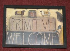Home & Garden Primitive Wall Decor, Country Primitive, My Home Design, House Design, Home Remodeling, My House, House Plans, Lambs, Home And Garden