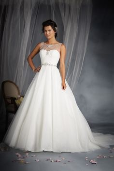 Cinderella Inspired Wedding Dress - 2015 Disney's Fairy Tale Weddings by Alfred Angelo