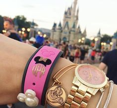 Magic Band Monogram Decal from Etsy