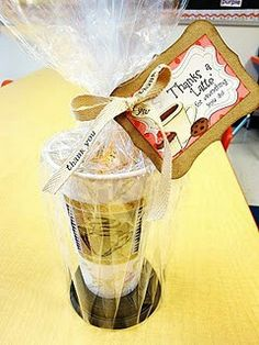 Great Teacher Reciation Add Local Coffeehouse Or A Starbucks Gift Card