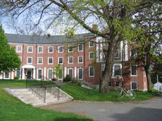 Smith College's Scales Dorm. 245 squares of North Country Unfading Black roofing slate.