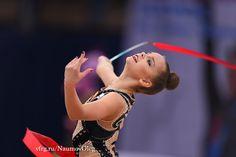 Dina Averina (Russia) won silver in all-around at Grand Prix (Holon) 2017